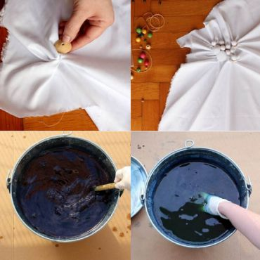 DIY : le Shibori, ce Tie and Dye chic en 8 étapes